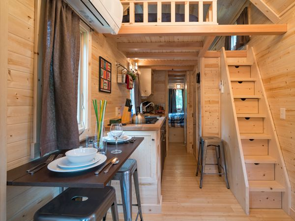 Tiny Houses At Mt. Hood Village, Oregon